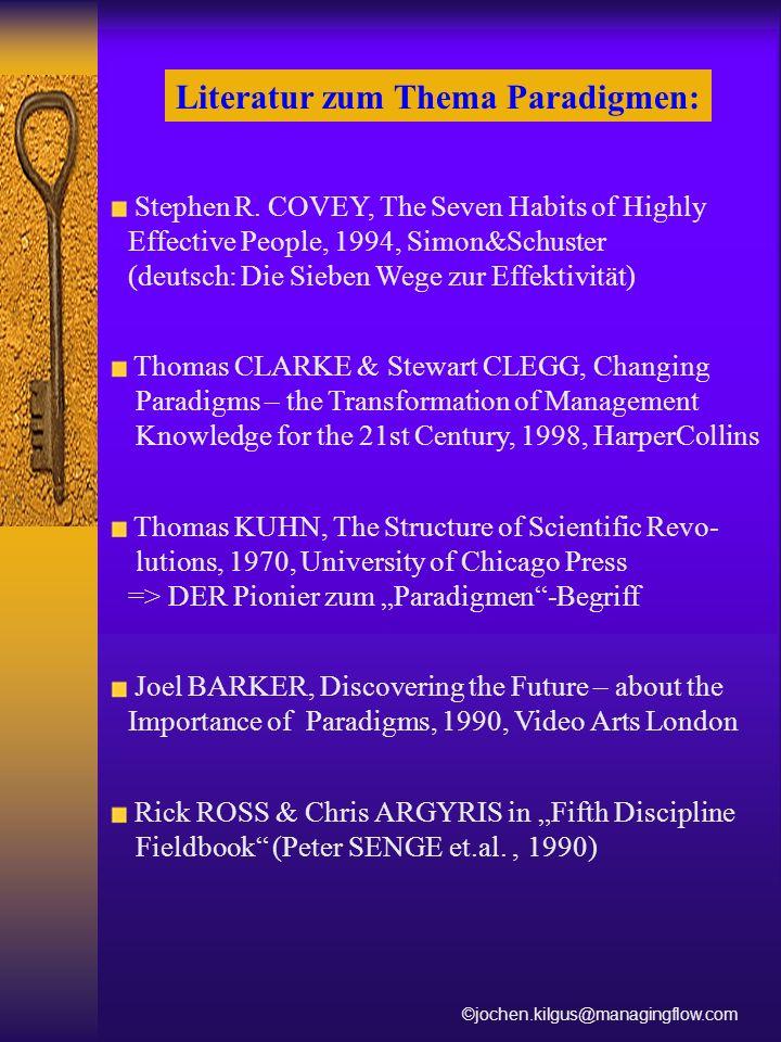 Literatur zum Thema Paradigmen: