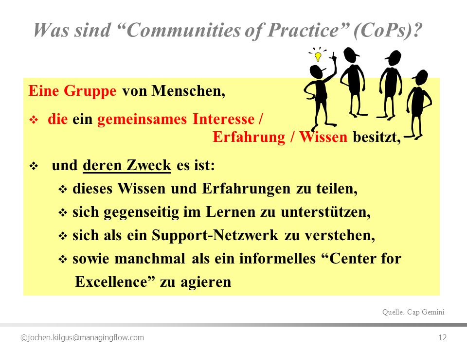Was sind Communities of Practice (CoPs)