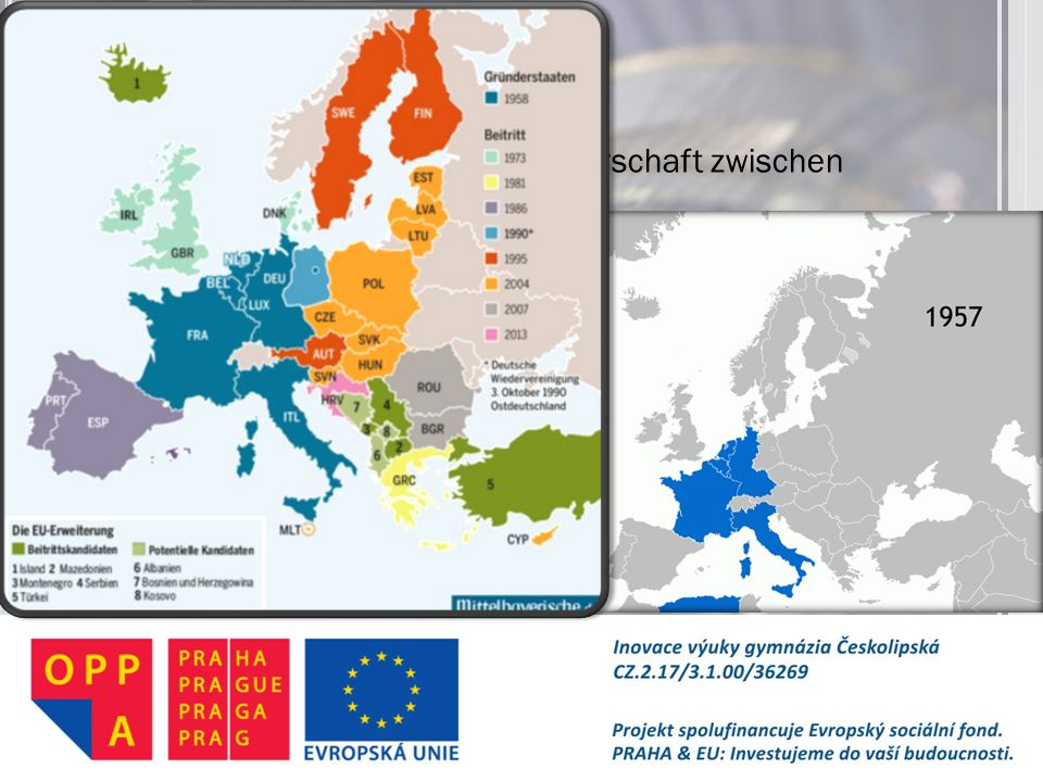 Europäische Union wirtschaftliche und politische Partnerschaft zwischen Staaten. 28 Mitglieder. 24 Amtssprachen.