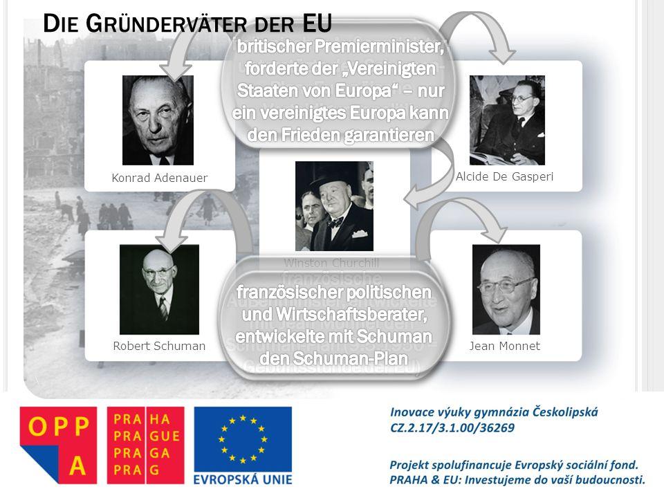 Die Gründerväter der EU