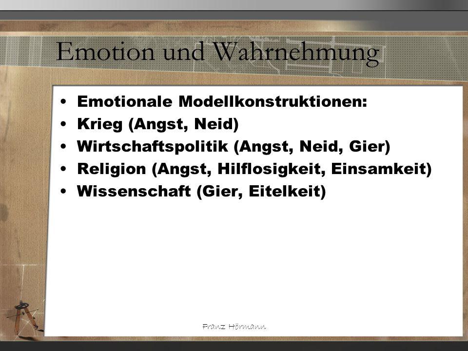 Emotion und Wahrnehmung