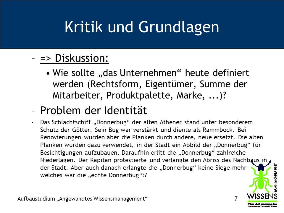 Kritik und Grundlagen => Diskussion: Problem der Identität