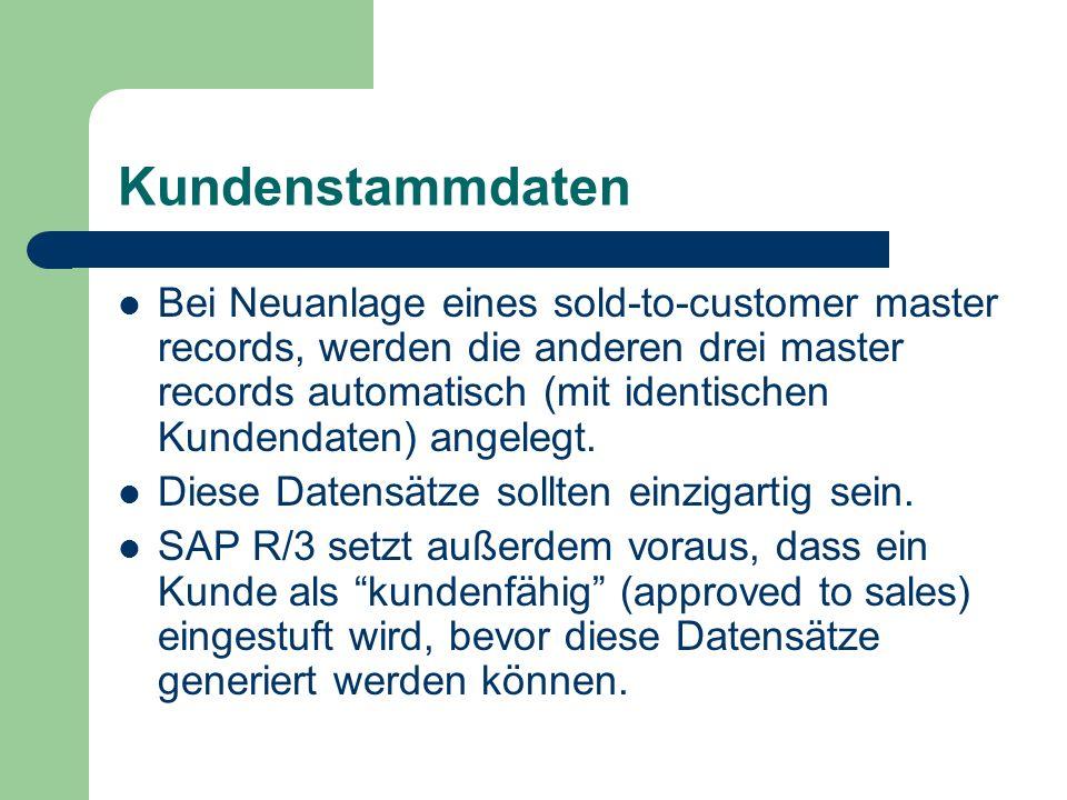 Kundenstammdaten