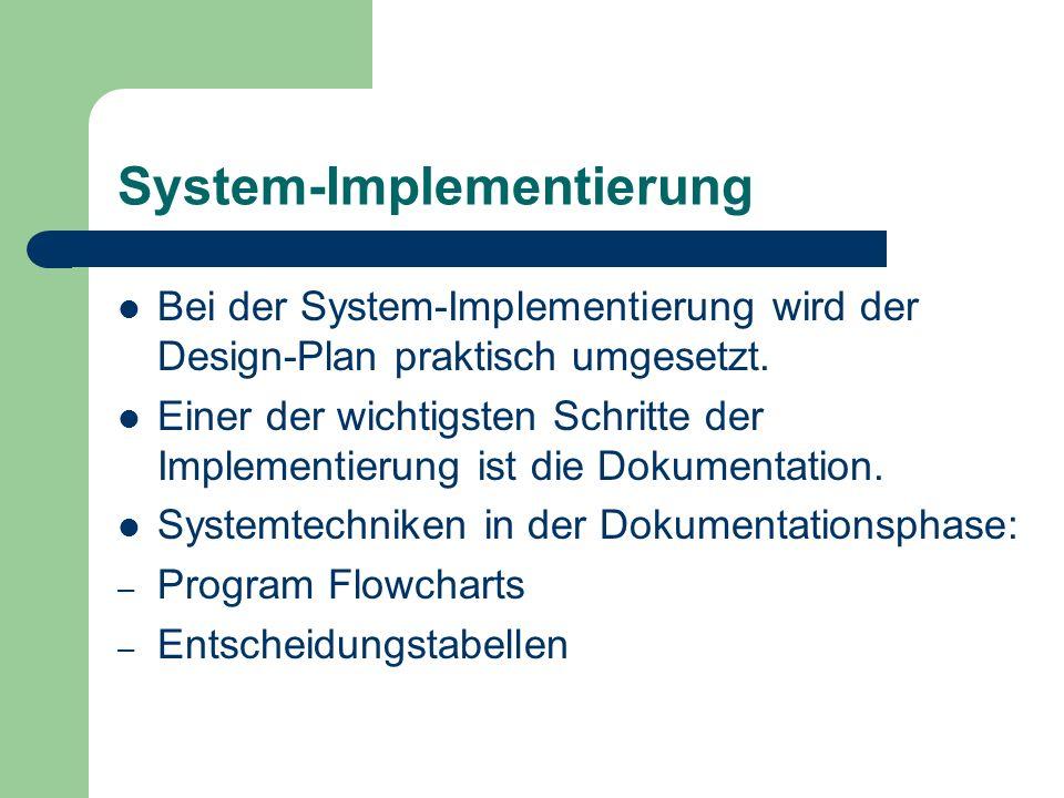 System-Implementierung
