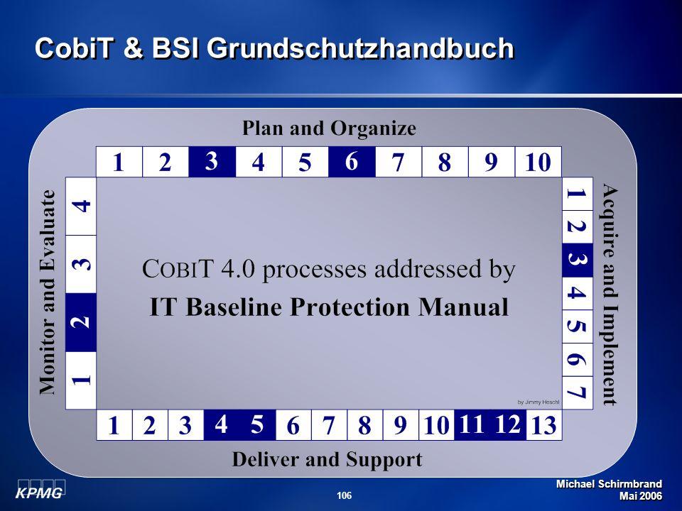 CobiT & BSI Grundschutzhandbuch