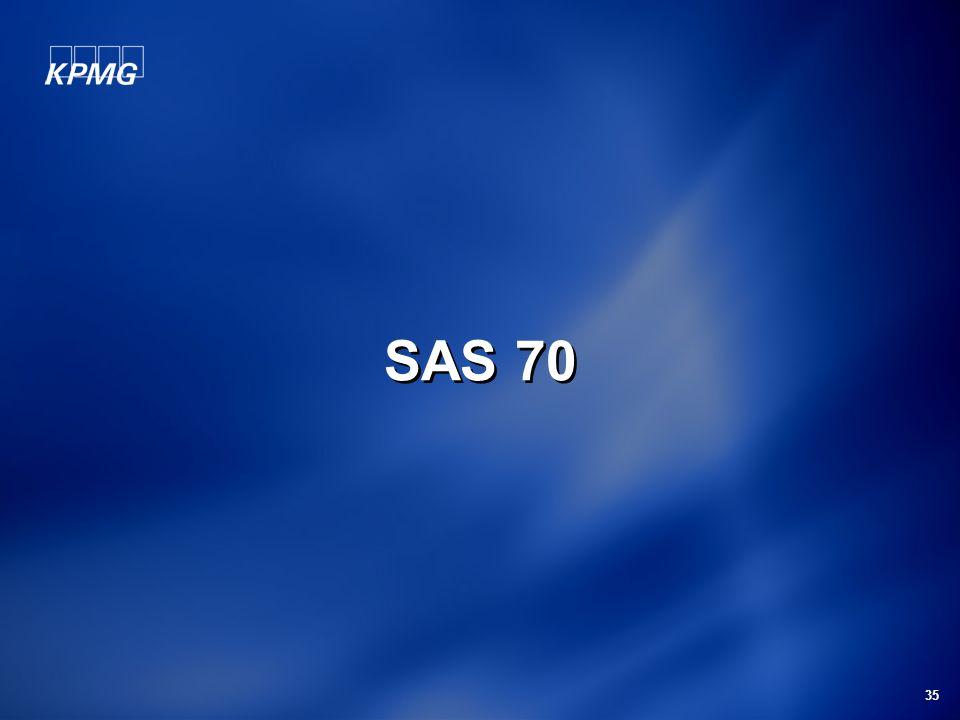 SAS 70