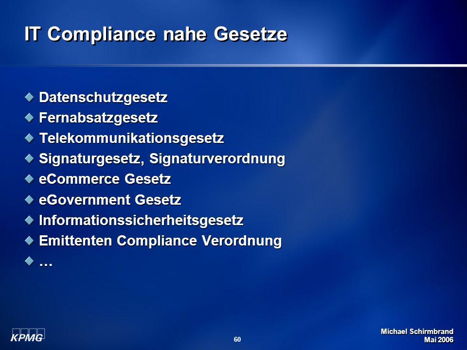 IT Compliance nahe Gesetze