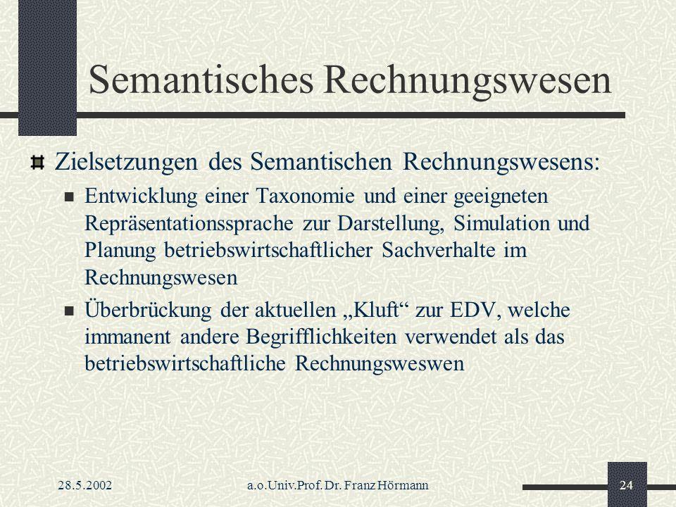Semantisches Rechnungswesen