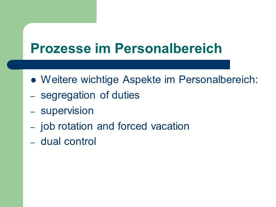 Prozesse im Personalbereich