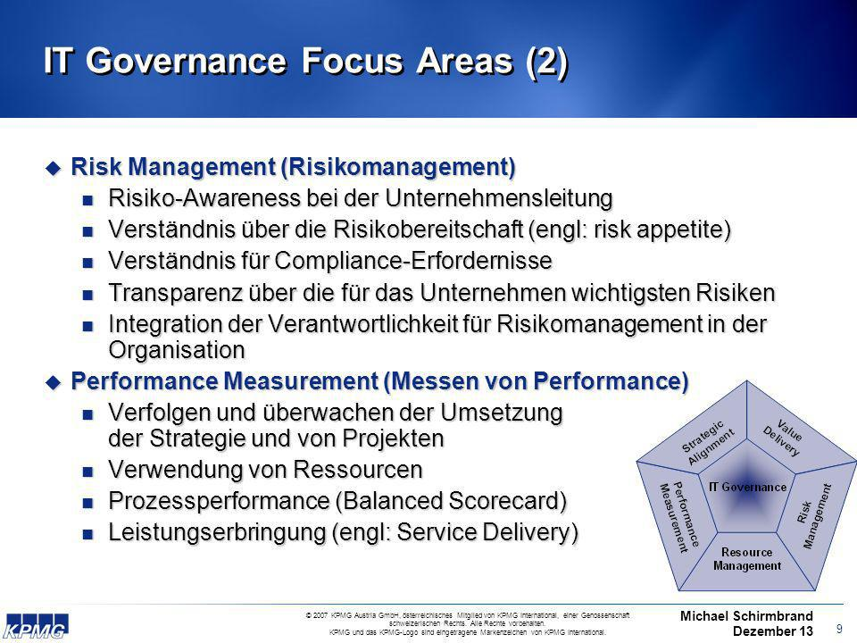 IT Governance Focus Areas (2)