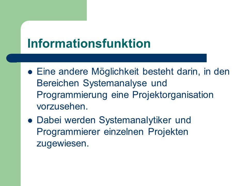 Informationsfunktion
