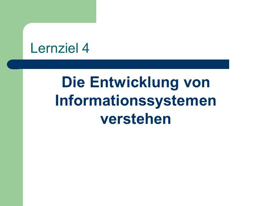 Die Entwicklung von Informationssystemen verstehen