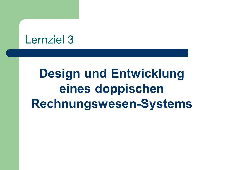 Design und Entwicklung eines doppischen Rechnungswesen-Systems