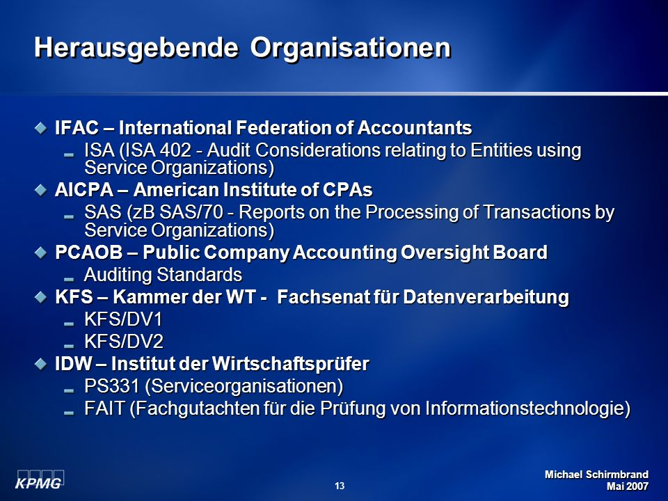 Herausgebende Organisationen