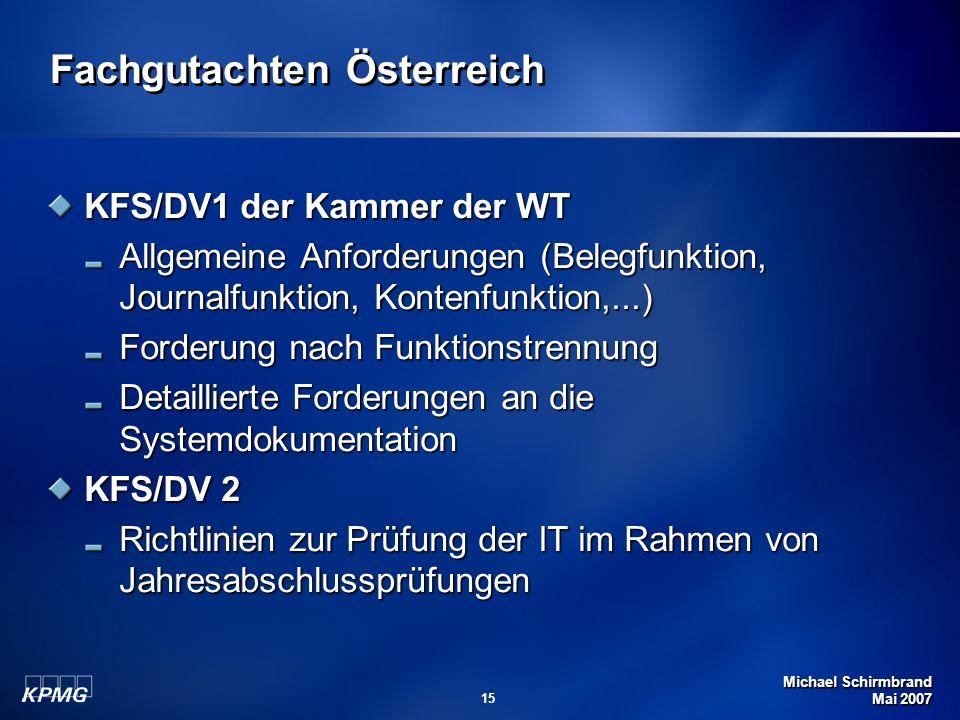 Fachgutachten Österreich