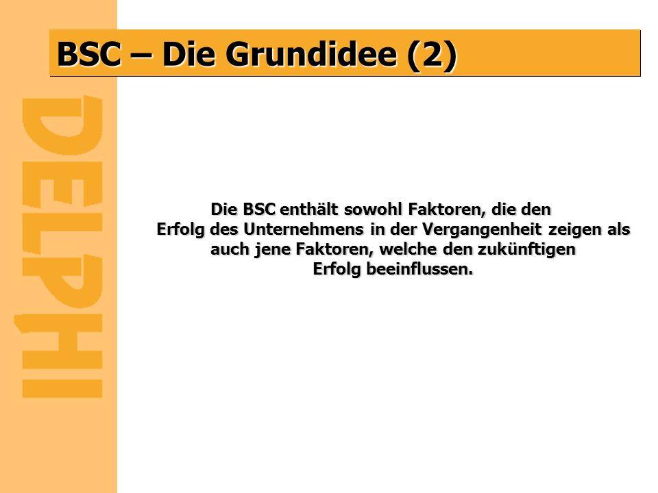 BSC – Die Grundidee (2)