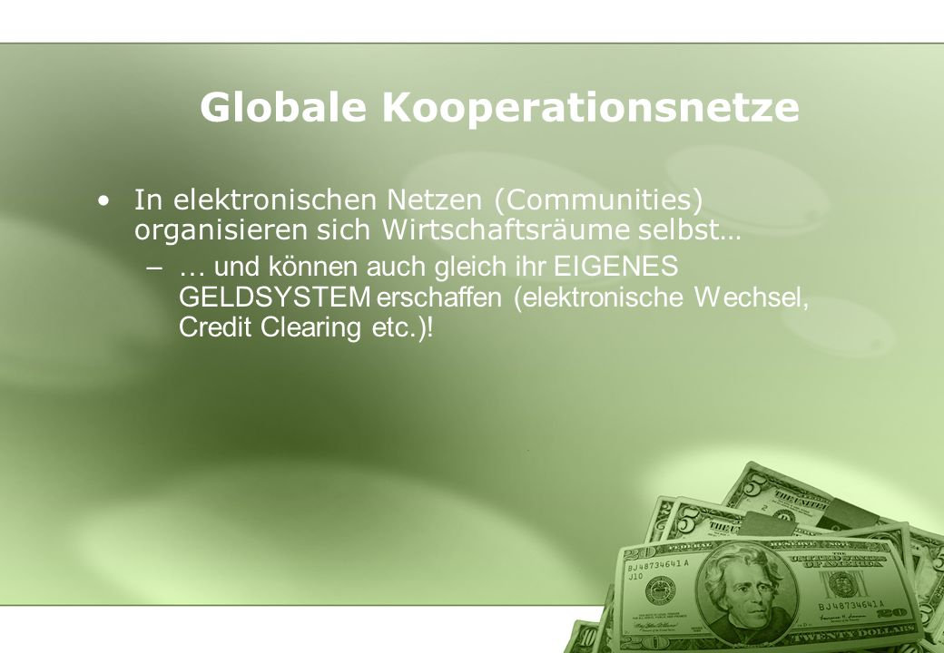 Globale Kooperationsnetze