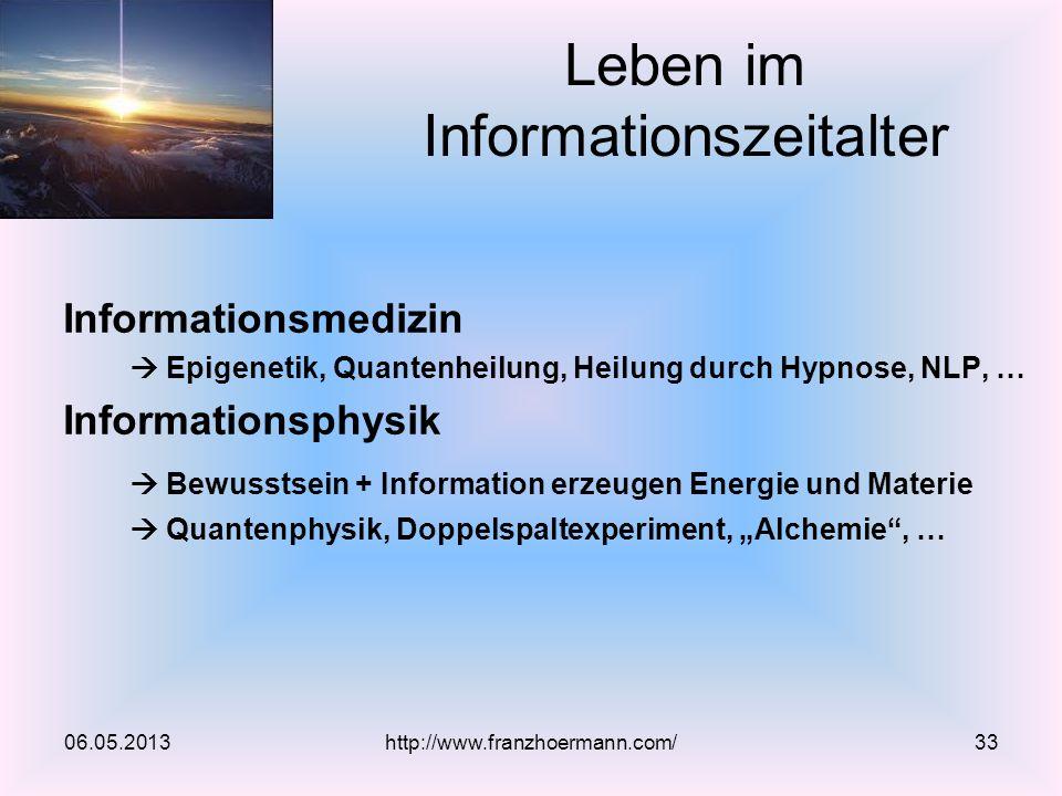 Leben im Informationszeitalter