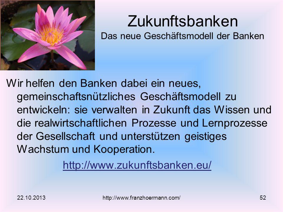 Zukunftsbanken Das neue Geschäftsmodell der Banken