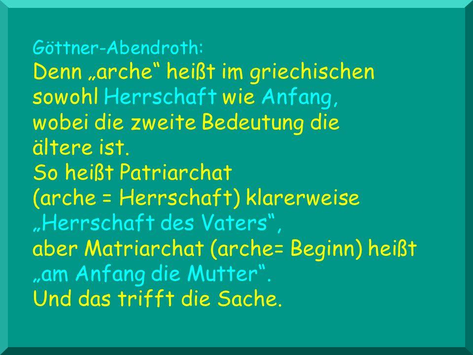 Göttner-Abendroth: