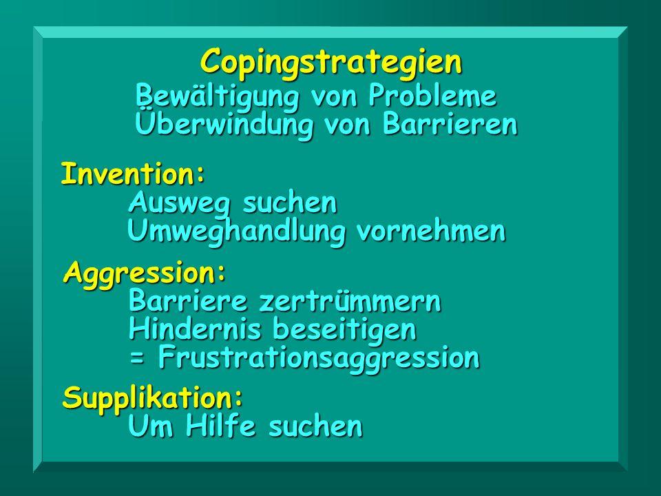 Copingstrategien Bewältigung von Probleme Überwindung von Barrieren