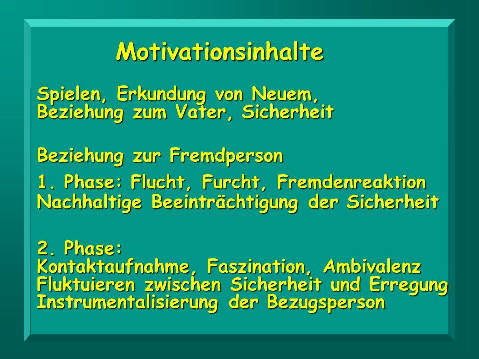 Motivationsinhalte Spielen, Erkundung von Neuem,