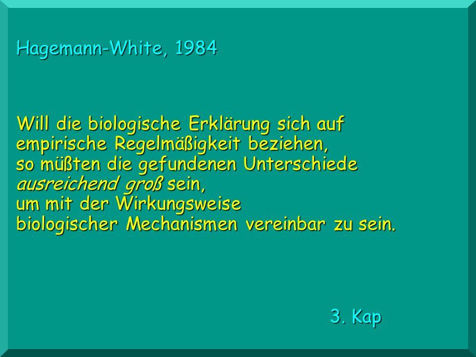 Hagemann-White, 1984
