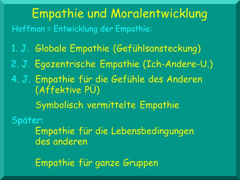 Empathie und Moralentwicklung