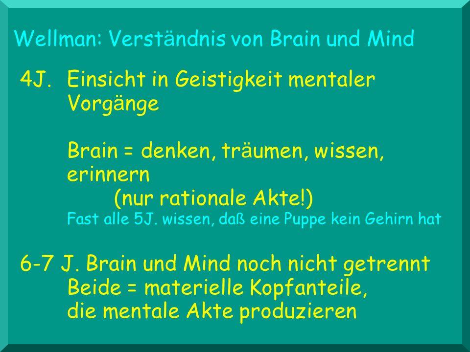 Wellman: Verständnis von Brain und Mind