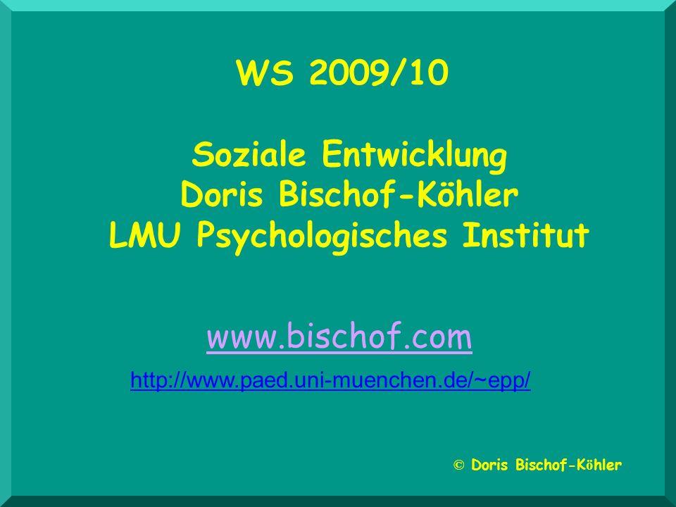 LMU Psychologisches Institut © Doris Bischof-Köhler