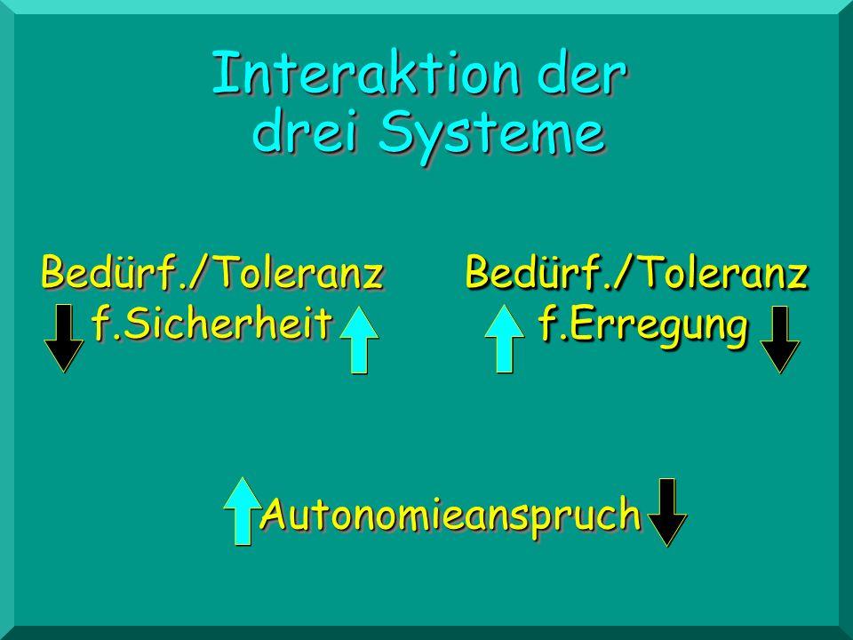 Interaktion der drei Systeme