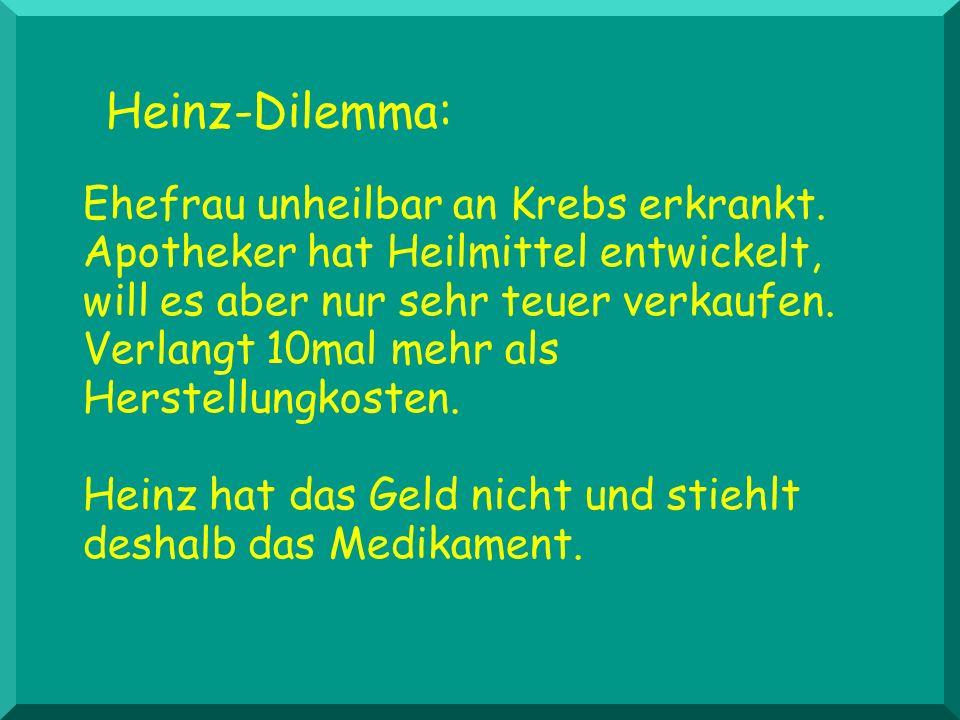 Heinz-Dilemma: