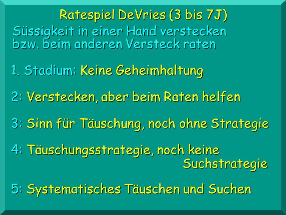 Ratespiel DeVries (3 bis 7J)
