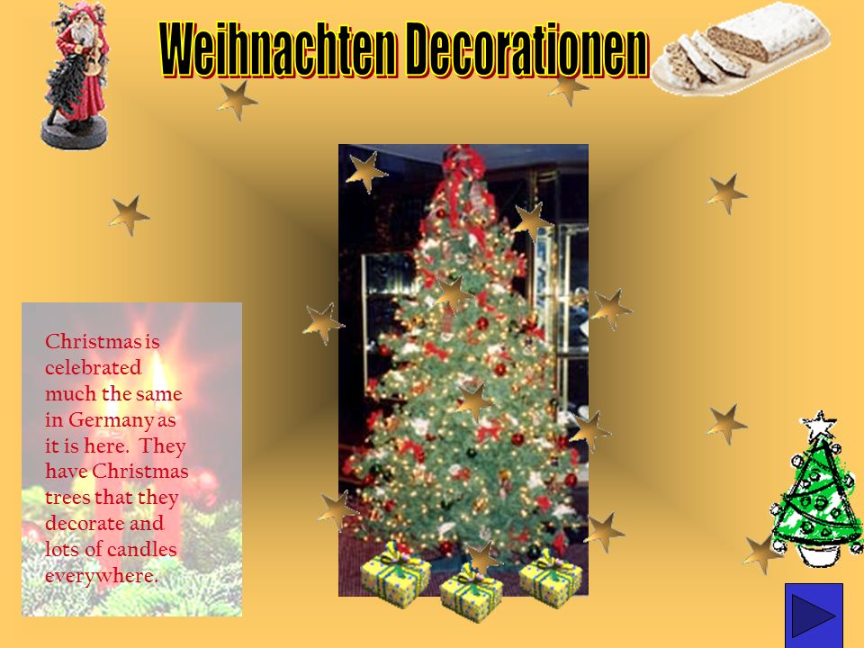 Weihnachten Decorationen