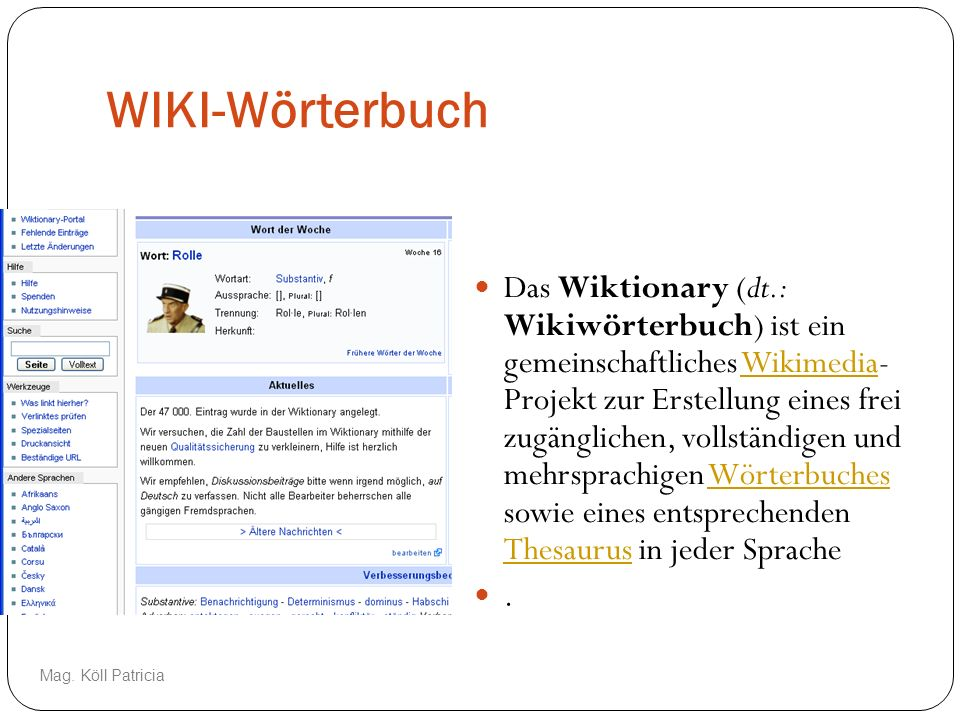 WIKI-Wörterbuch