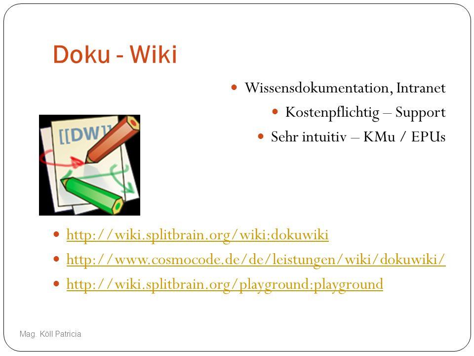 Doku - Wiki Wissensdokumentation, Intranet Kostenpflichtig – Support