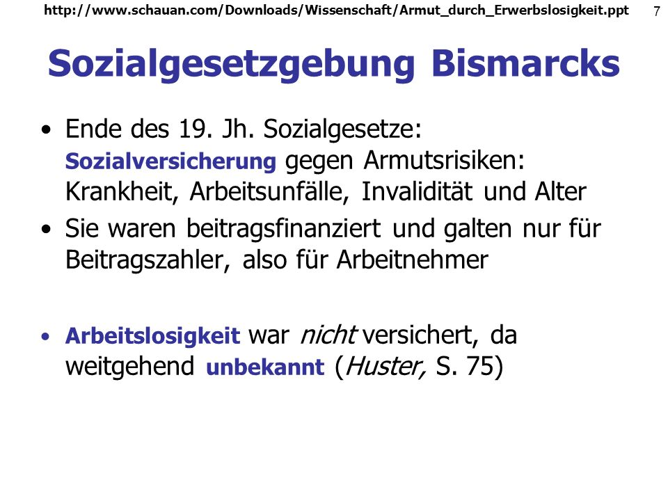 Sozialgesetzgebung Bismarcks