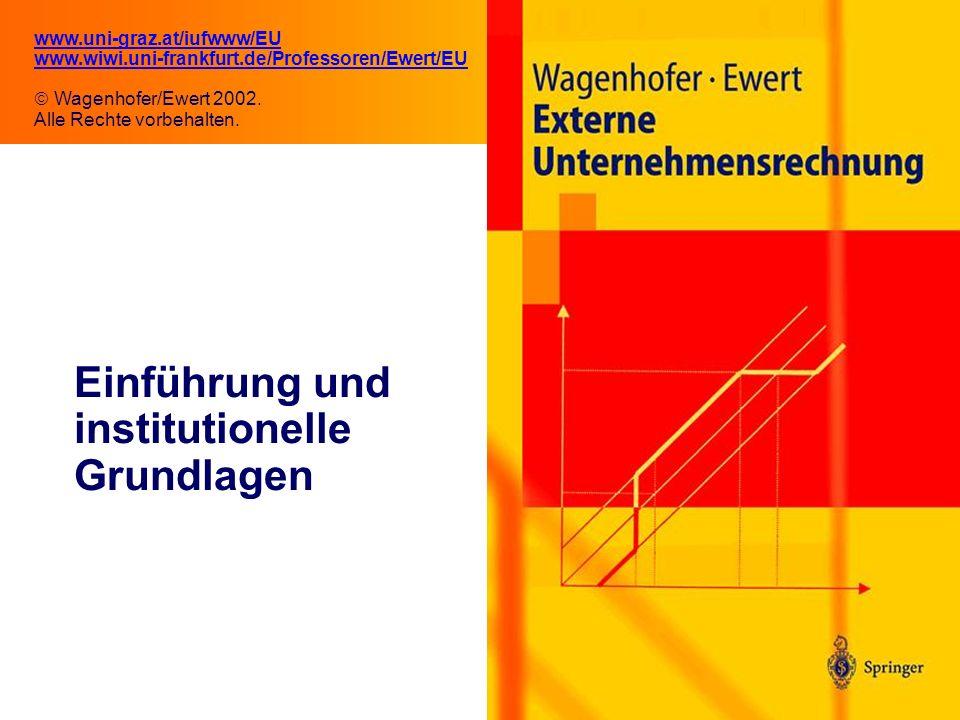 Einführung und institutionelle Grundlagen