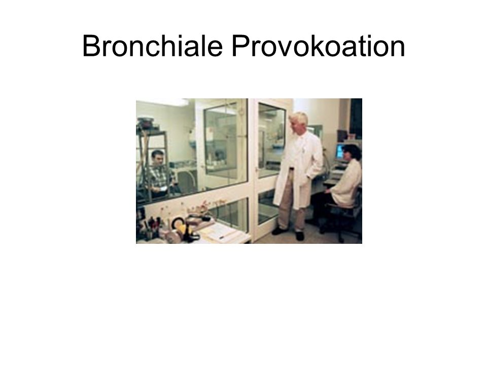 Bronchiale Provokoation