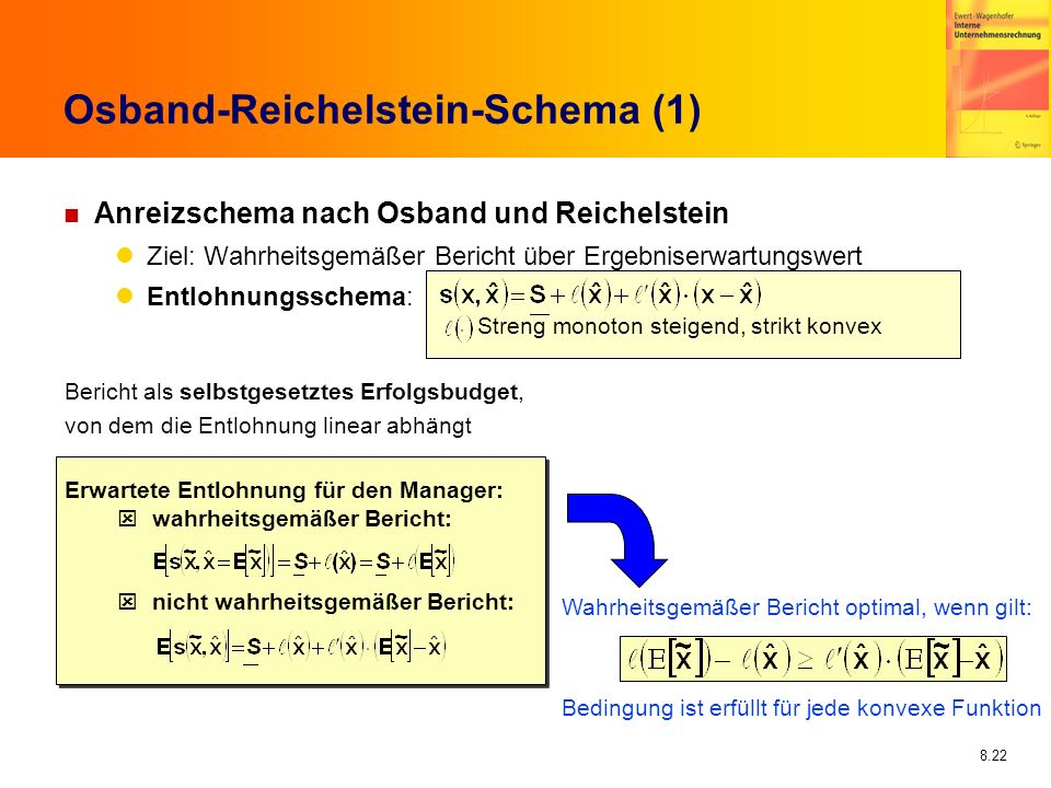 Osband-Reichelstein-Schema (1)