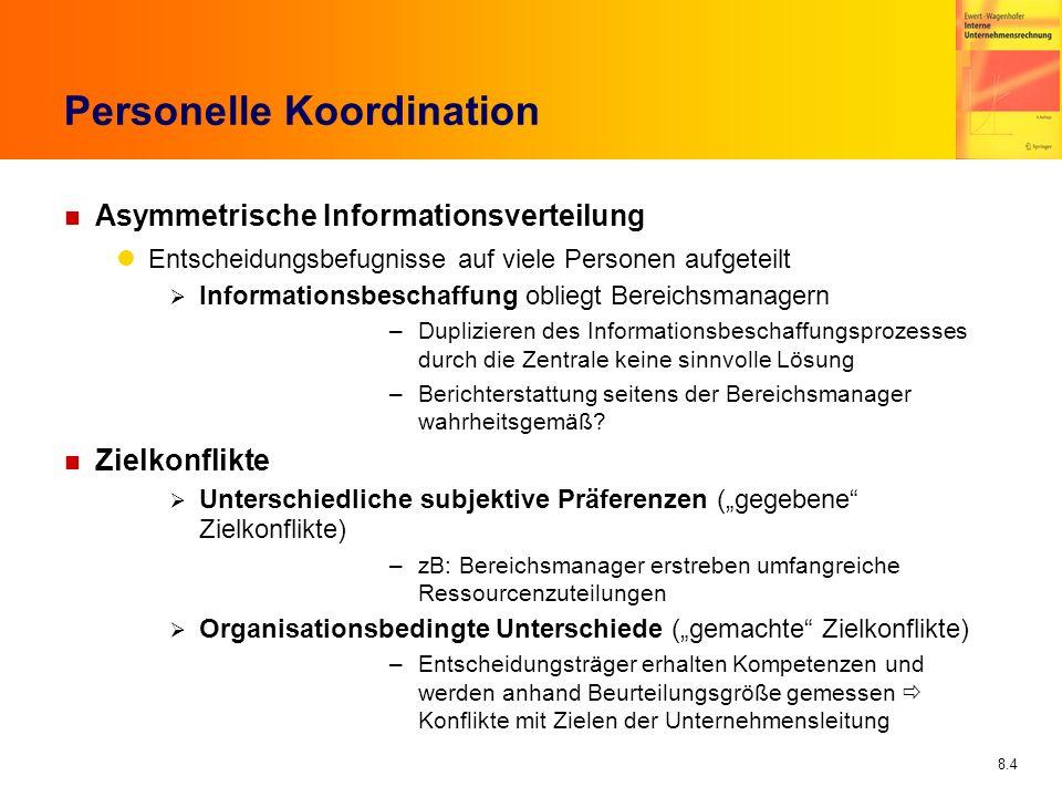 Personelle Koordination