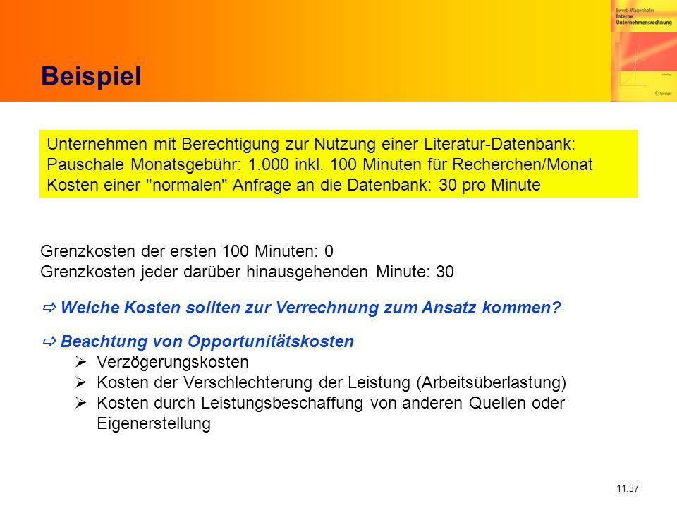 BeispielUnternehmen mit Berechtigung zur Nutzung einer Literatur-Datenbank: Pauschale Monatsgebühr: 1.000 inkl. 100 Minuten für Recherchen/Monat.