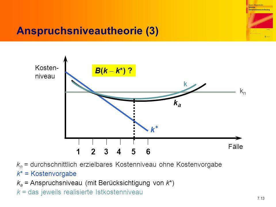 Anspruchsniveautheorie (3)