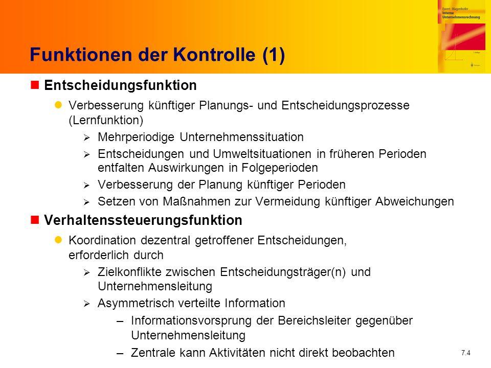 Funktionen der Kontrolle (1)