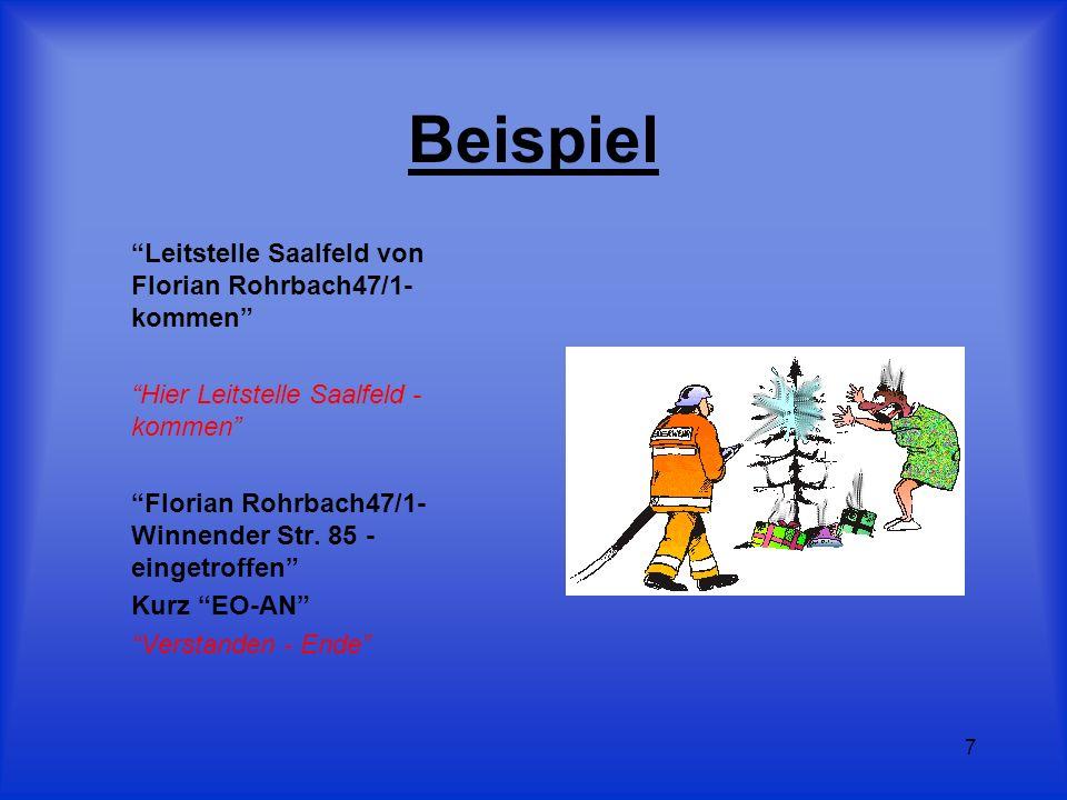 Beispiel Leitstelle Saalfeld von Florian Rohrbach47/1- kommen