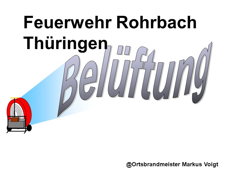 Feuerwehr Rohrbach Thüringen
