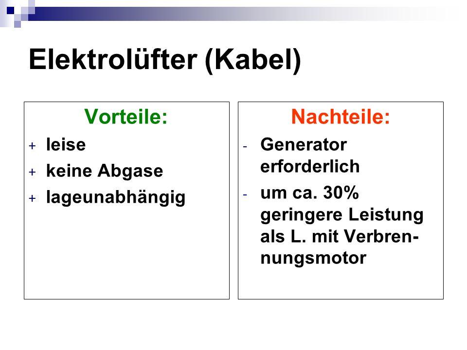 Elektrolüfter (Kabel)