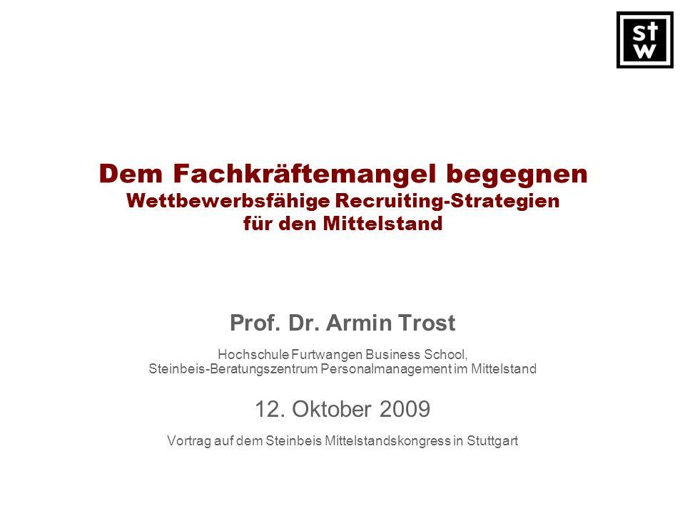 Vortrag auf dem Steinbeis Mittelstandskongress in Stuttgart