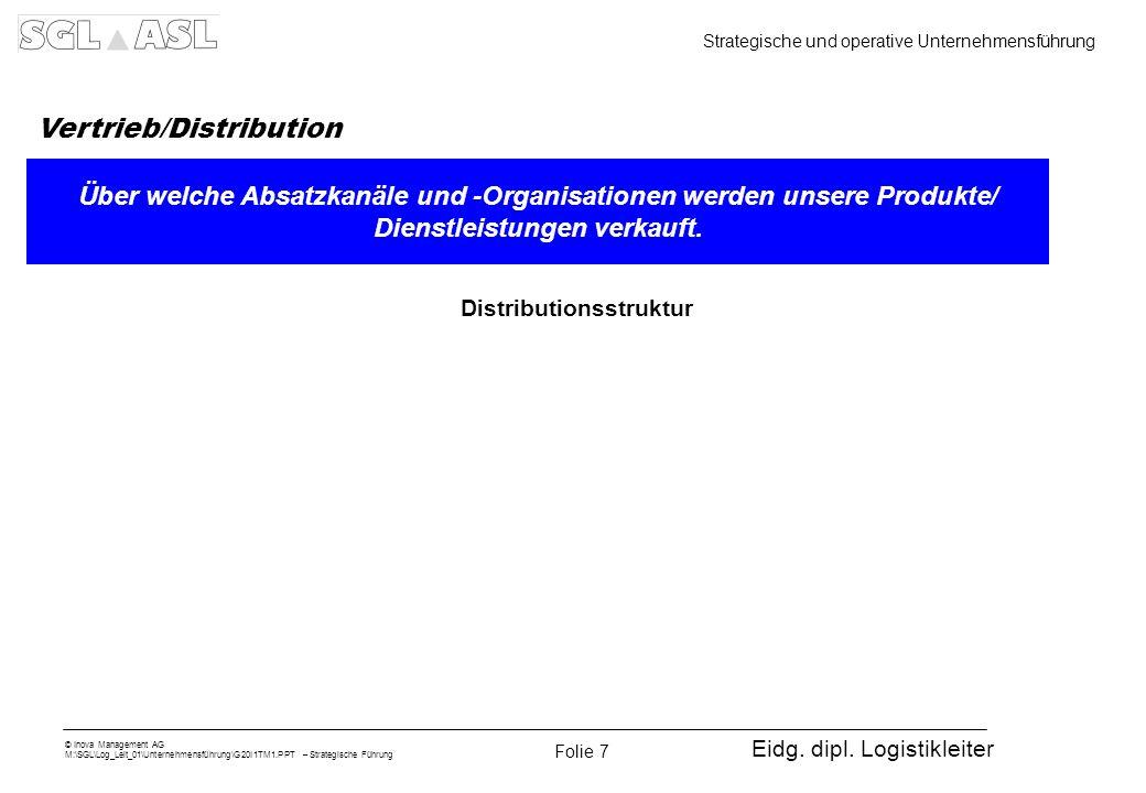Vertrieb/Distribution