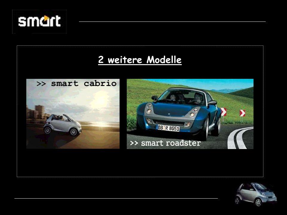 2 weitere Modelle >> smart cabrio